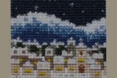 【A Snowy Town】