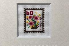 切手【Flower 2】