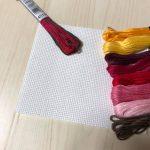 刺しゅう糸準備